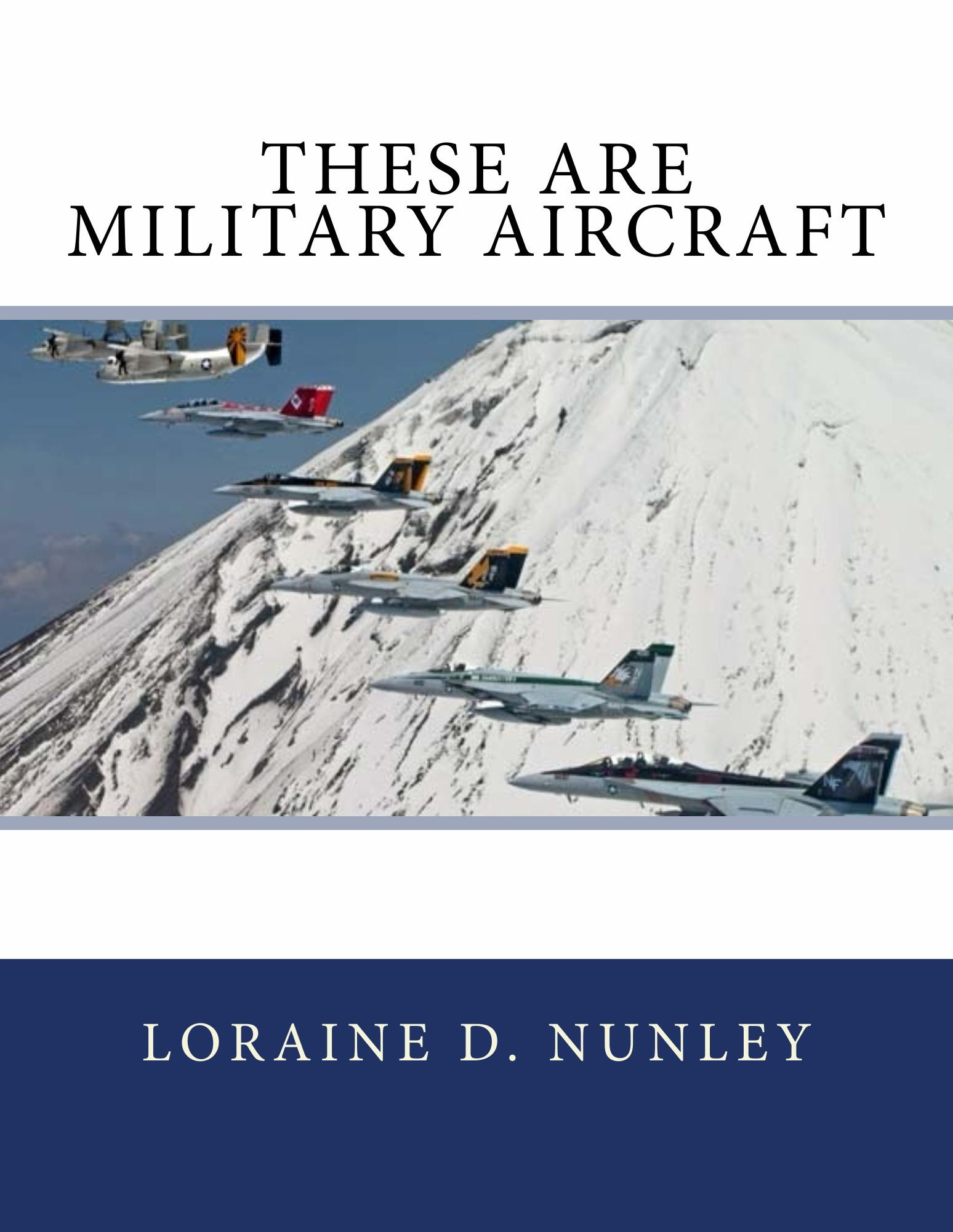 Kindle Freebie Alert: These Are Military Aircraft by Loraine Nunley