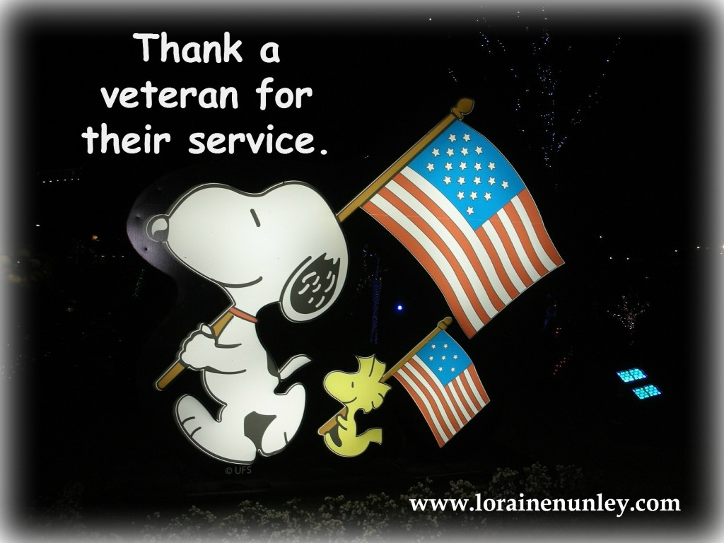 Thank a veteran for their service. www.lorainenunley.com
