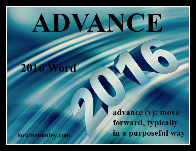 Welcome 2016! - My word and verse for the year