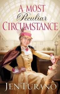 A Most Peculiar Circumstance by Jen Turano Book Review by Loraine Nunley