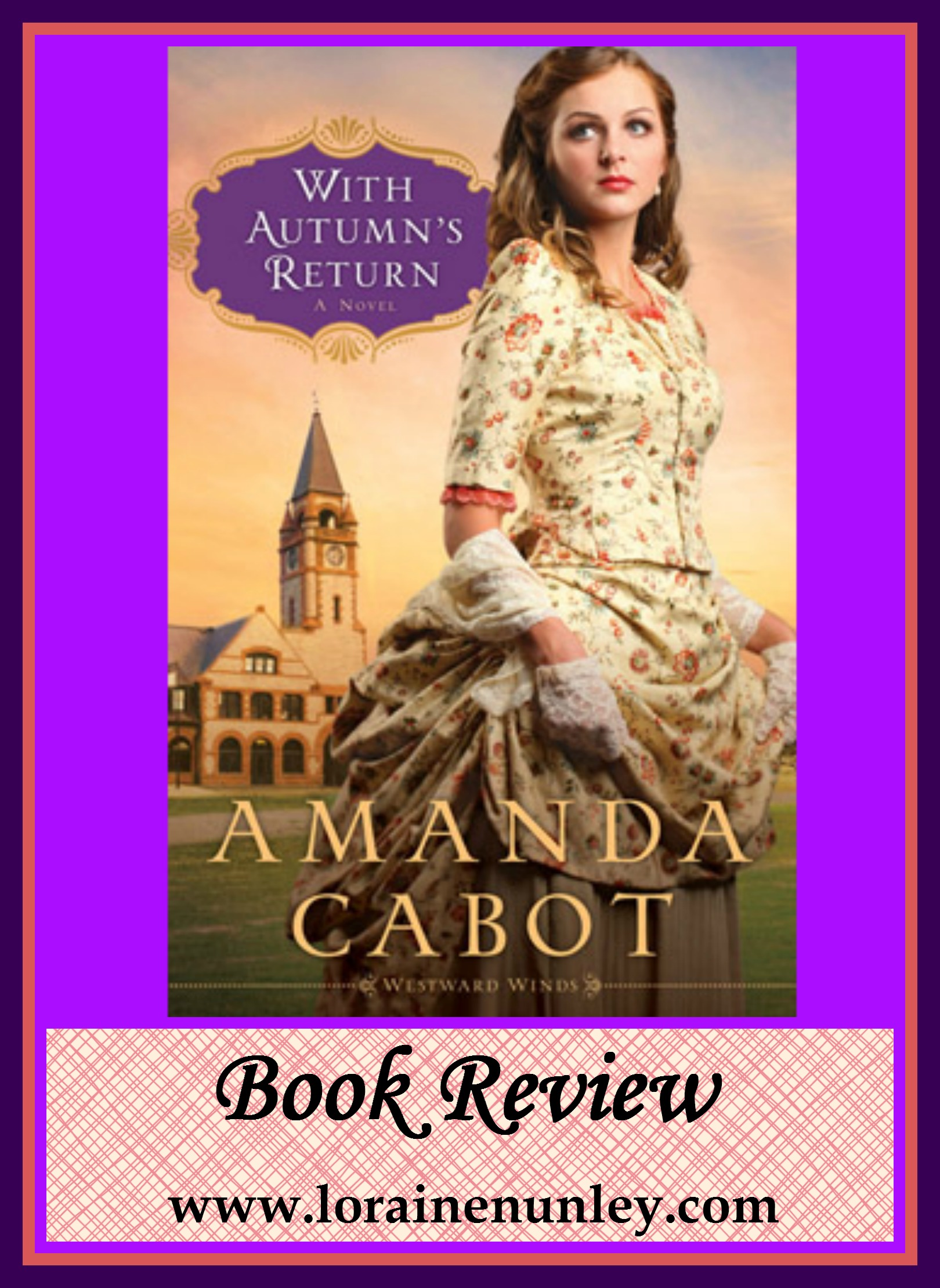 Book Review: With Autumn's Return by Amanda Cabot