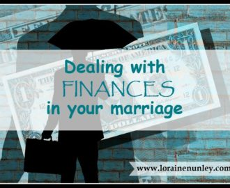 Dealing with Finances in your marriage | www.lorainenunley.com