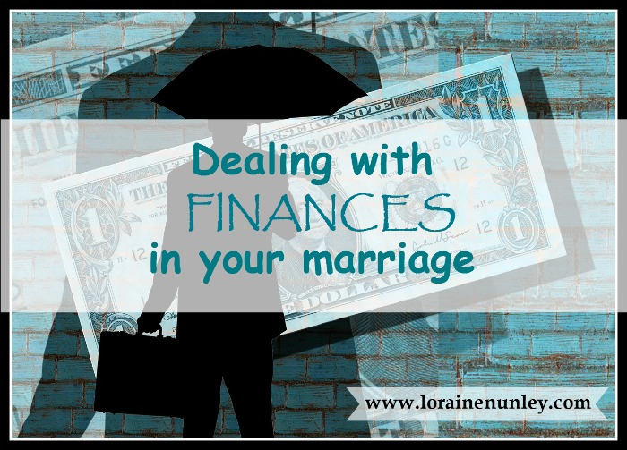The Tax Man Cometh... Dealing with finances in your marriage