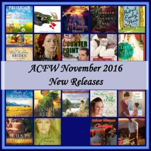 ACFW November 2016 New Releases