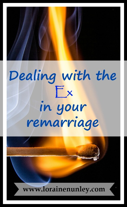 Dealing with the Ex in your remarriage | www.lorainenunley.com