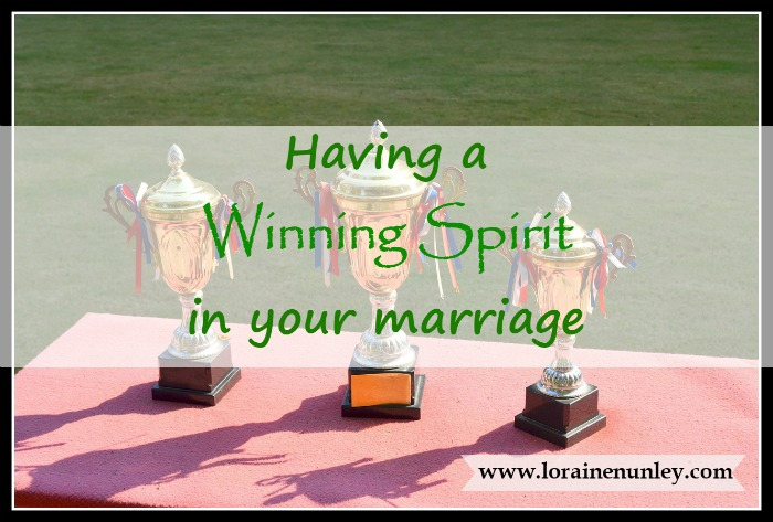 Having a Winning Spirit in Your Marriage