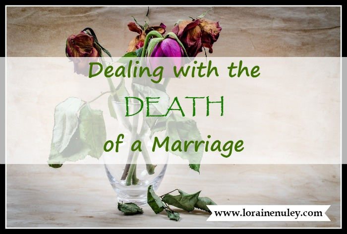 Dealing with the Death of a Marriage