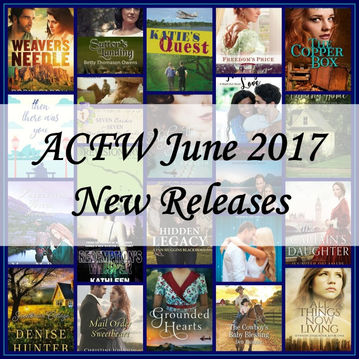 June 2017 New Releases from ACFW Authors