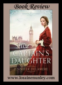 The Captain's Daughter by Jennifer Delamere | Book Review by Loraine Nunley