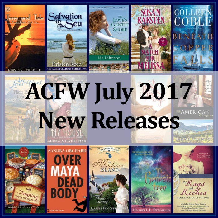 July 2017 New Releases from ACFW Authors | Loraine D. Nunley, author