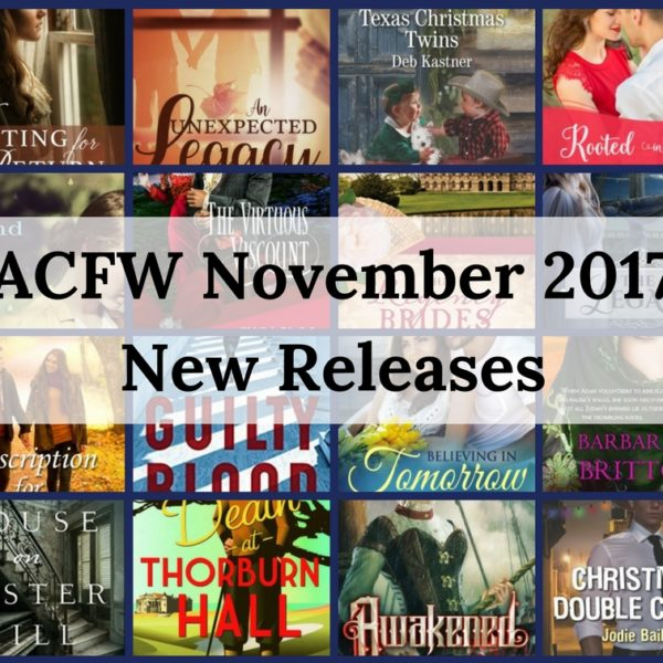 November 2017 New Releases from ACFW Authors