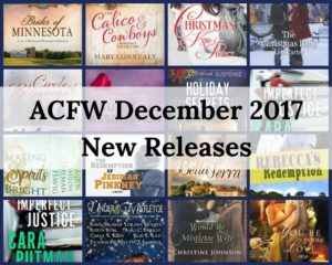 ACFW December 2017 New Releases | www.lorainenunley.com