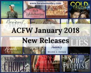 ACFW January 2018 New Releases | www.lorainenunley.com