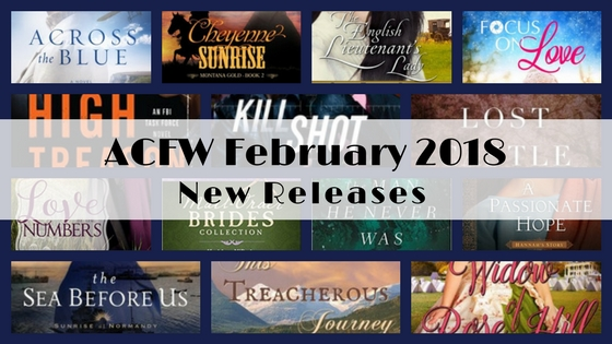 February 2018 New Releases from ACFW Authors