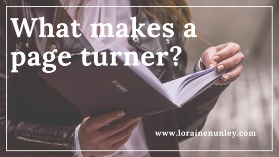 What makes a page turner?