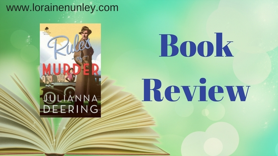 Book Review: Rules of Murder by Julianna Deering
