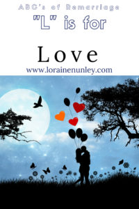 """""""L"""" is for Love - ABCs of Remarriage 