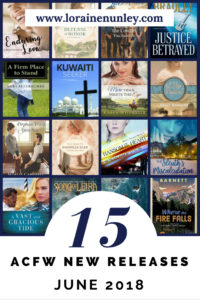 June 2018 New Releases from ACFW Authors @lorainenunley
