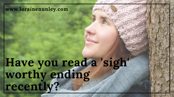 "Have you read a ""sigh"" worthy ending?"