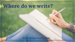 Where do we write? @lorainenunley