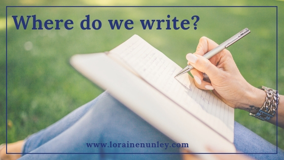Where do we write?