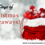 2018 12 Days of Christmas Giveaways | www.lorainenunley.com #BookGiveaway