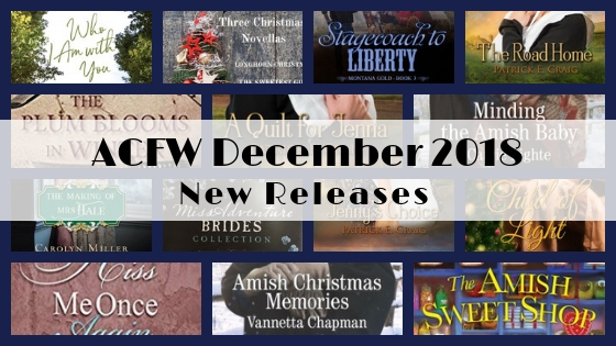 December 2018 New Releases from ACFW Authors