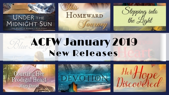 January 2019 New Releases from ACFW Authors