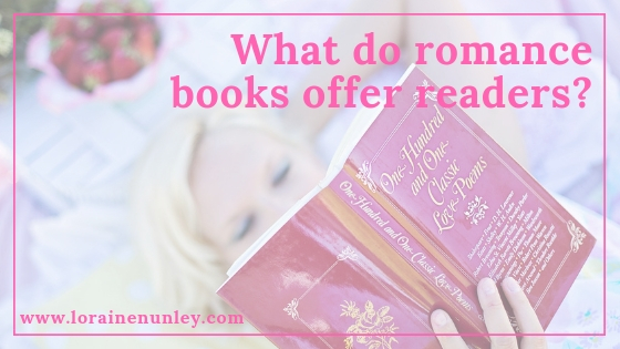 What do romance books offer readers?