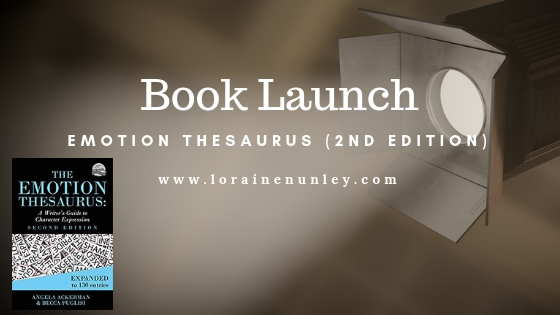 Emotion Thesaurus Book Launch plus a Giveaway!