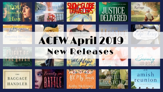 April 2019 New Releases from ACFW Authors