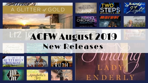 August 2019 New Releases from ACFW Authors