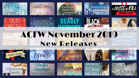 November 2019 New Releases from ACFW Authors