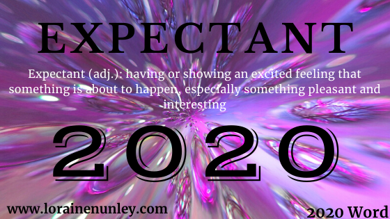 Welcome 2020! My word for the year