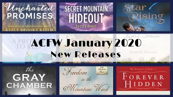January 2020 New Releases from ACFW Authors