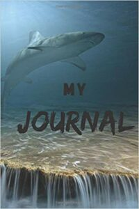 Book Cover: My Journal: Sharks