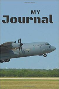 Book Cover: My Journal: C130 Aircraft