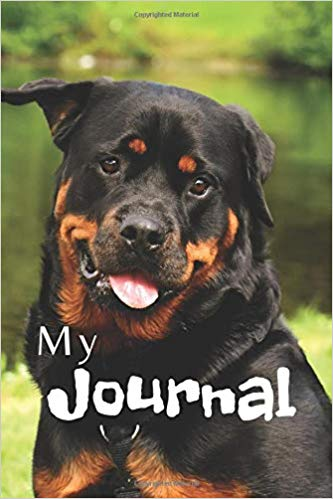 Book Cover: My Journal: Dogs
