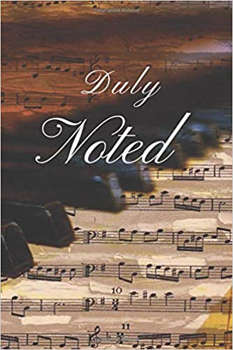 Book Cover: My Journal: Duly Noted