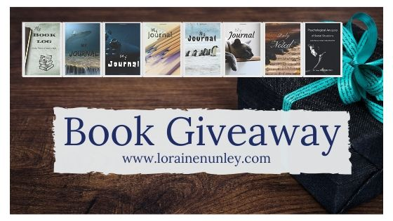 Book Giveaway: Journals and Write-in Books by Loraine Nunley