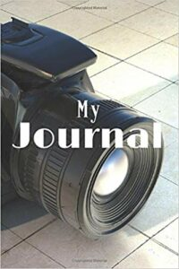 Book Cover: My Journal: Camera