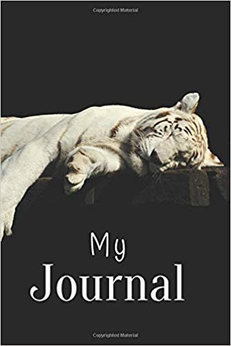 Book Cover: My Journal: Tiger