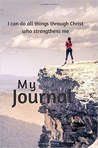 Book Cover: My Journal: Philippians 4:13