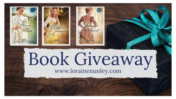 Giveaway at Loraine Nunley's website: The Secret Lives of Will Tucker Series by Kathleen Y'Barbo #BookGiveaway