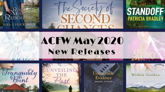 May 2020 New Releases from ACFW Authors