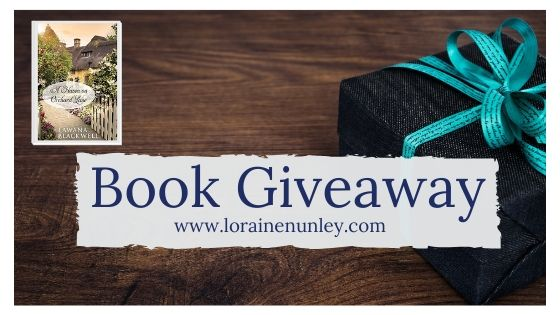 Giveaway at Loraine Nunley's website: A Haven on Orchard Lane by Lawana Blackwell #bookgiveaway