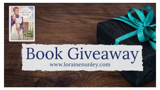 Book Giveaway: A Stolen Heart by Amanda Cabot
