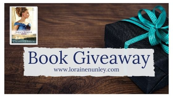 Book Giveaway: Love's Rescue by Christine Johnson