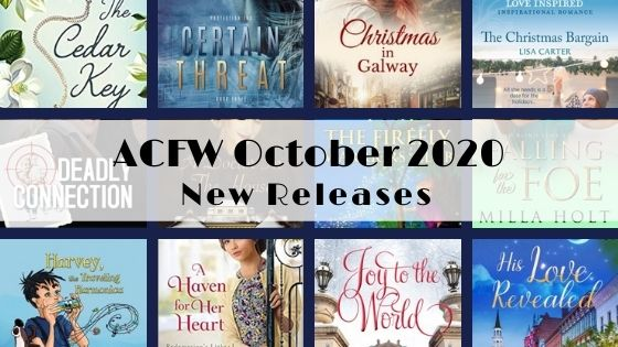 October 2020 New Releases from ACFW Authors