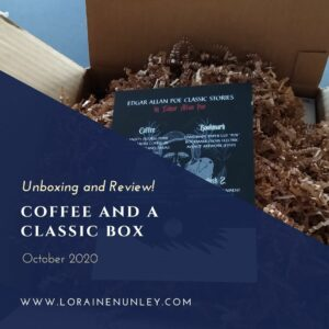 Unboxing and Review: Coffee and a Classic Subscription Box (October 2020)